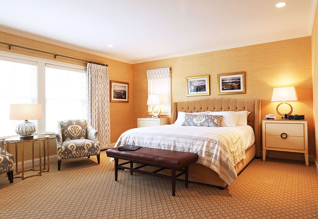 Grand Hotel guest room in Kennebunk, Maine