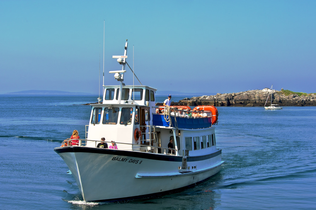 The island is accessible only by boat, so make sure to book your ferry through Monhegan Boat Line. – Timothy Valentine