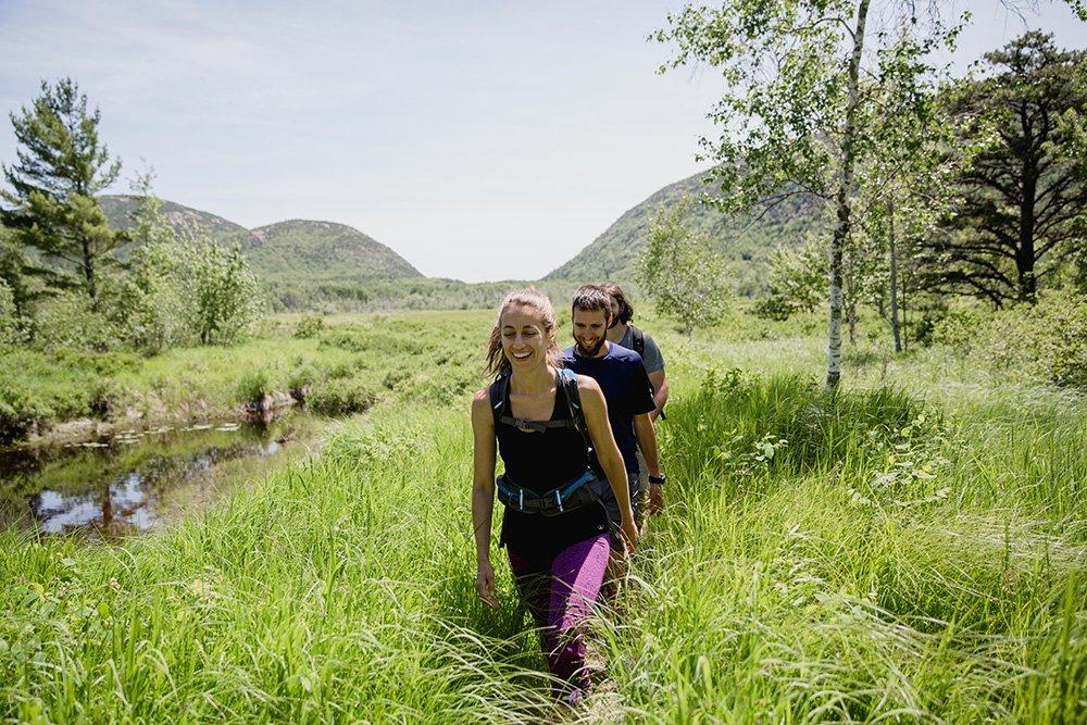 Hiking at Acadia National Park