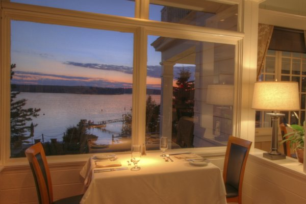 88 Fine Dining at Spruce Point Inn Resort, Maine