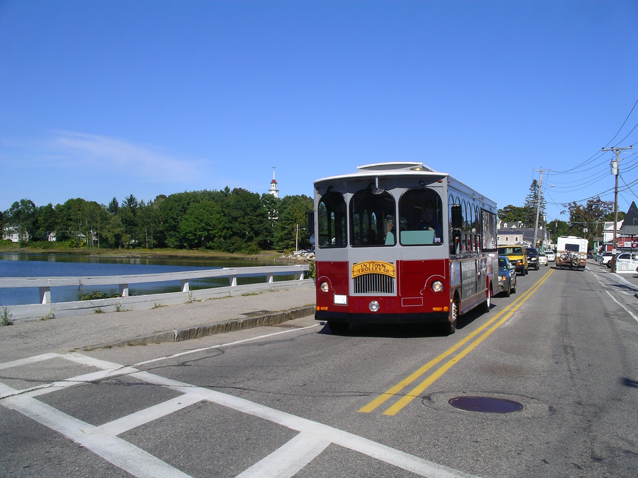 Trolley Kennebunkport - see much more at KennebunkportMaineLodging.com Site