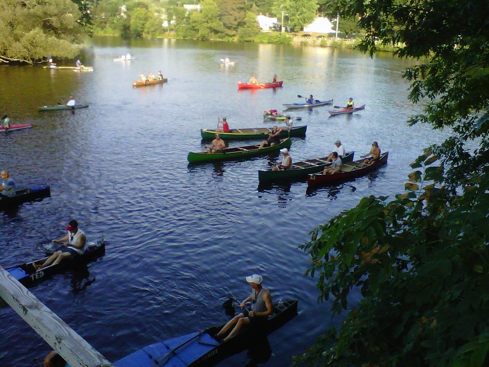 The annual Sundowner Canoe and Kayak Race is presented by Southside Tavern.