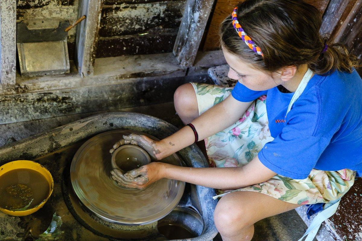 Pottery at Wawenock