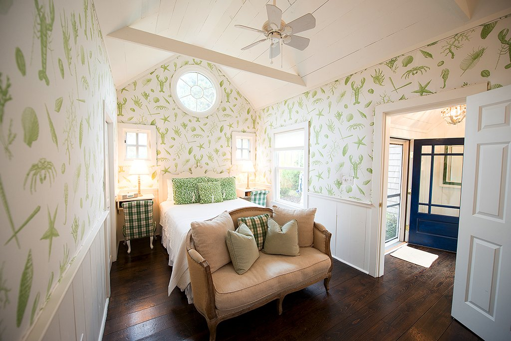 Bedroom of a Cabot Cove Cottage