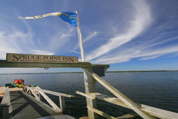 Welcome at Spruce Point Inn Resort, Maine