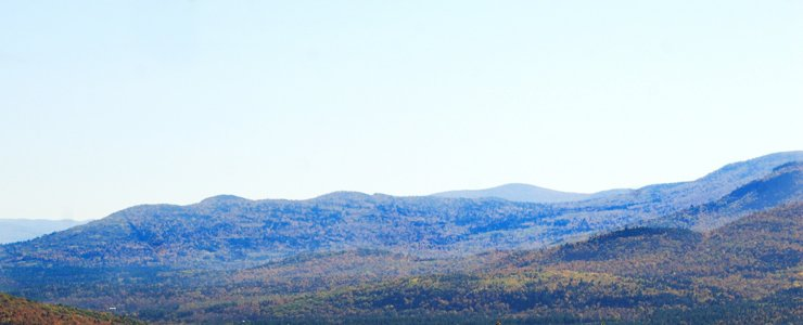 Stunning view of White Mountain.