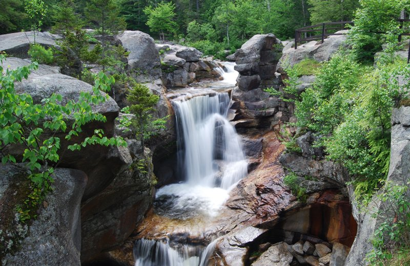 Screw Auger Falls in Grafton Notch State Park.