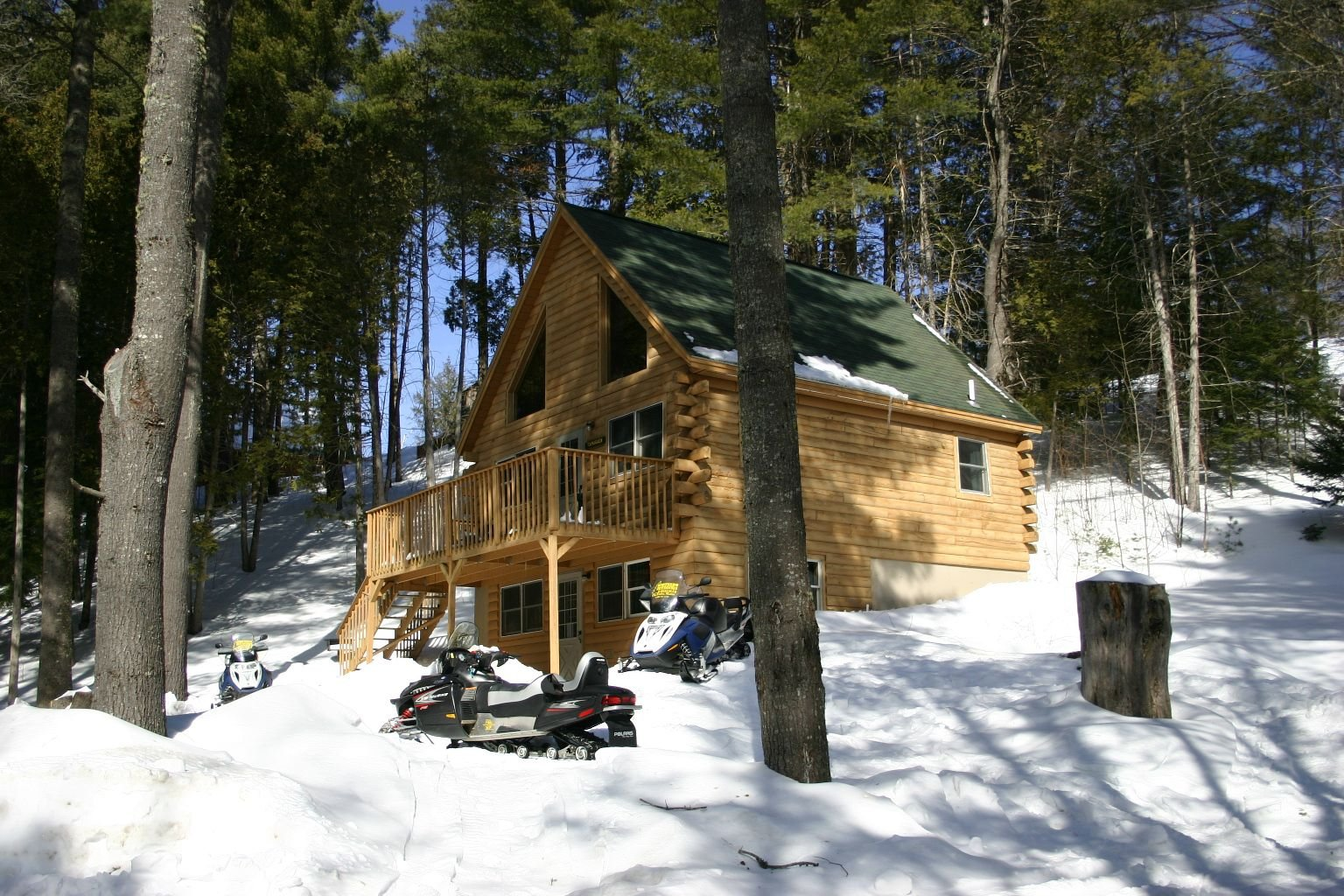 Our Northwoods Cabins can sleep 4 - 10 comfortably.