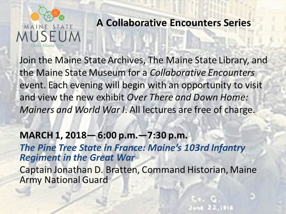 Maine State Museum-A Collaborative Encounters Series