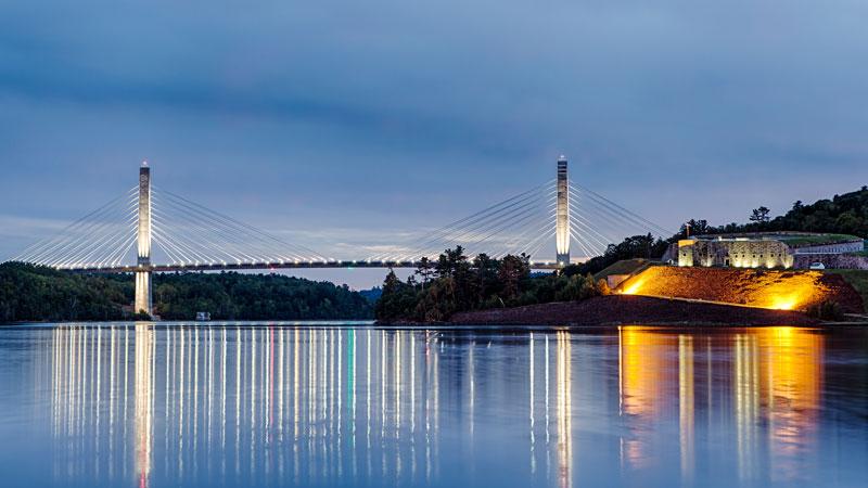 Penobscot Narrows Bridge and Observatory