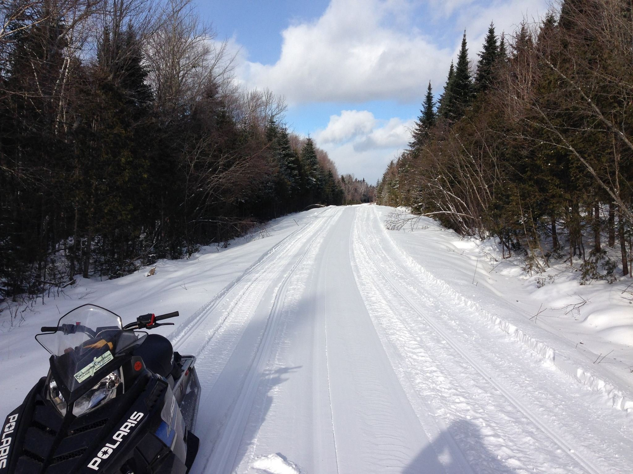 Local trails are groomed by clubs who maintain an incredible system to ride on for both beginners and experienced riders.