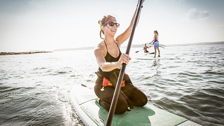 From classic kayaking to stand up paddle boarding, and from surfing to schooner rides, there are so many ways to get on the water in Maine.