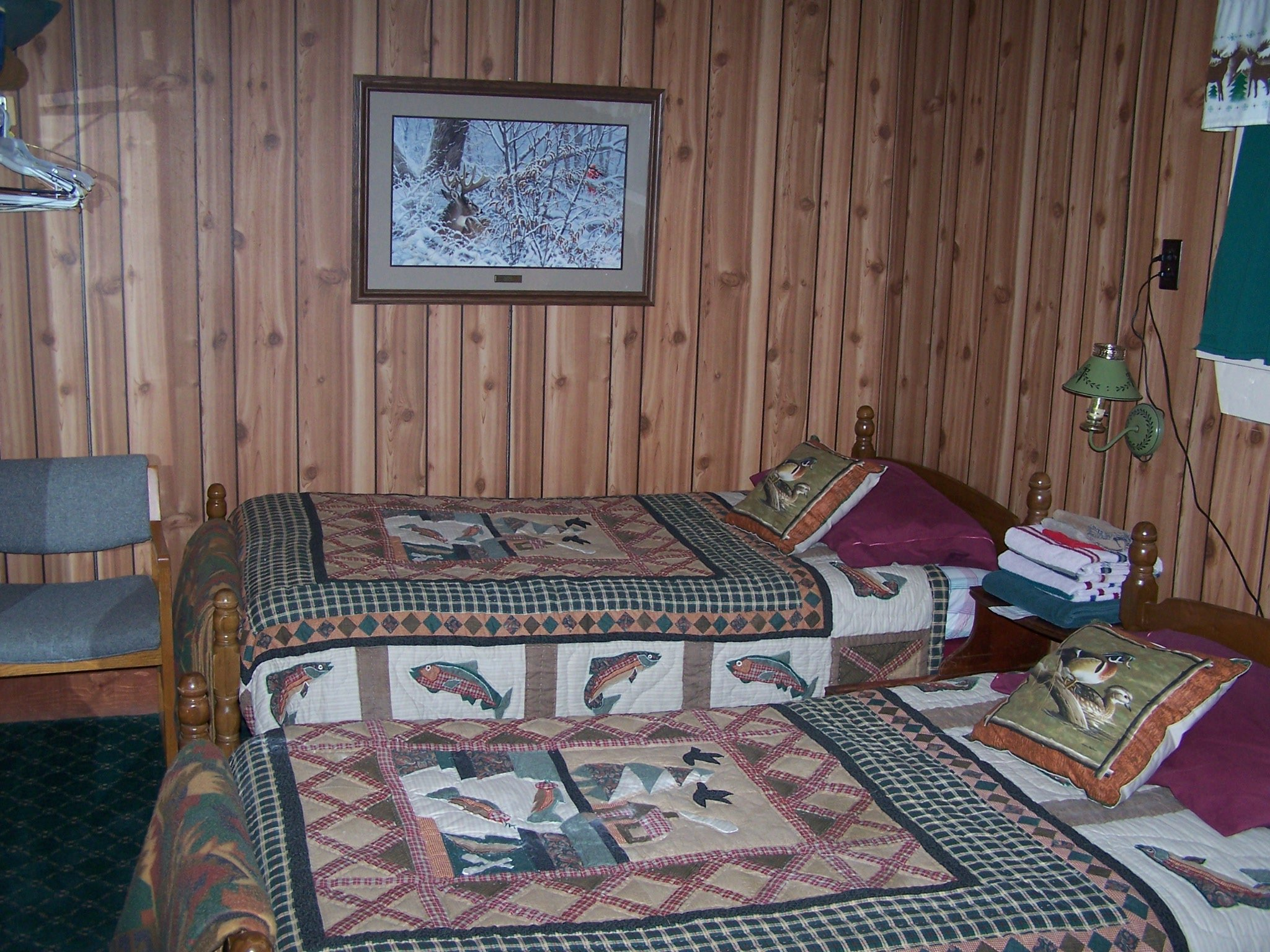 Guest room 3 in main lodge