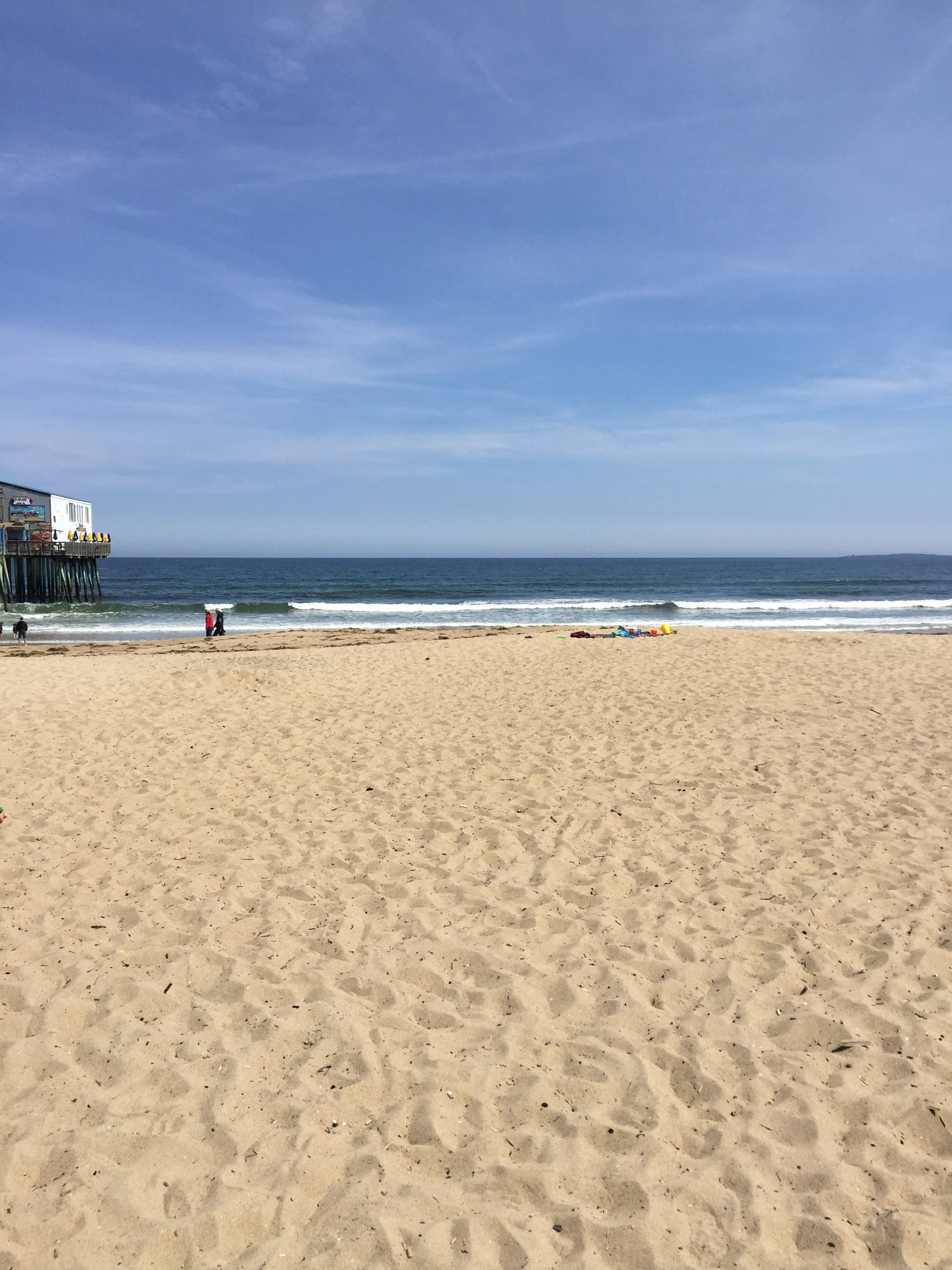 Old Orchard Beach, in May