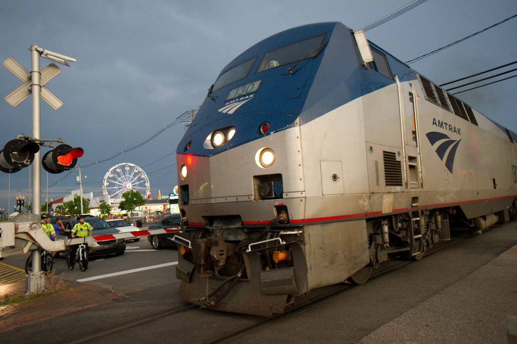 Amtrak Downeaster, Old Orchard Beach Maine