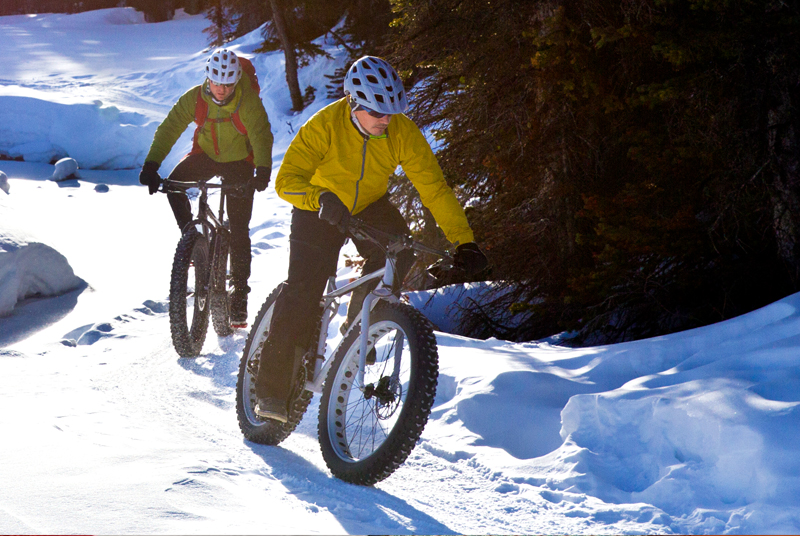 Fat Biking in Maine's Lakes and Mountains