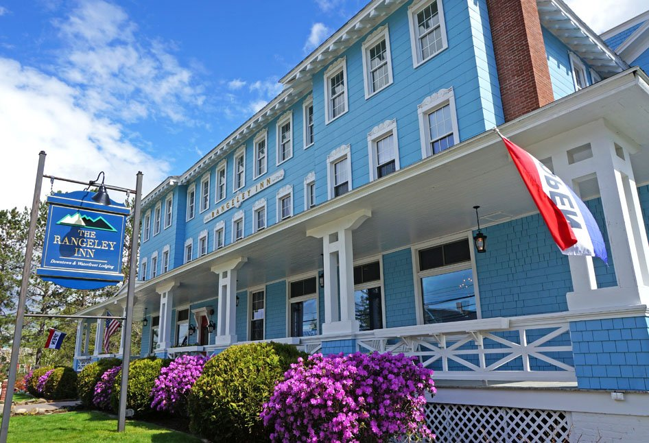 The Rangeley Inn is one of Maine's most historic grand hotels.