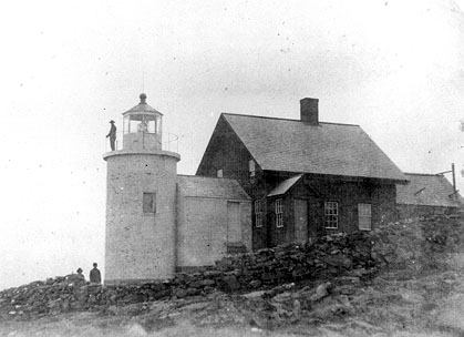 Historic photo of Tenants Harbor Light House