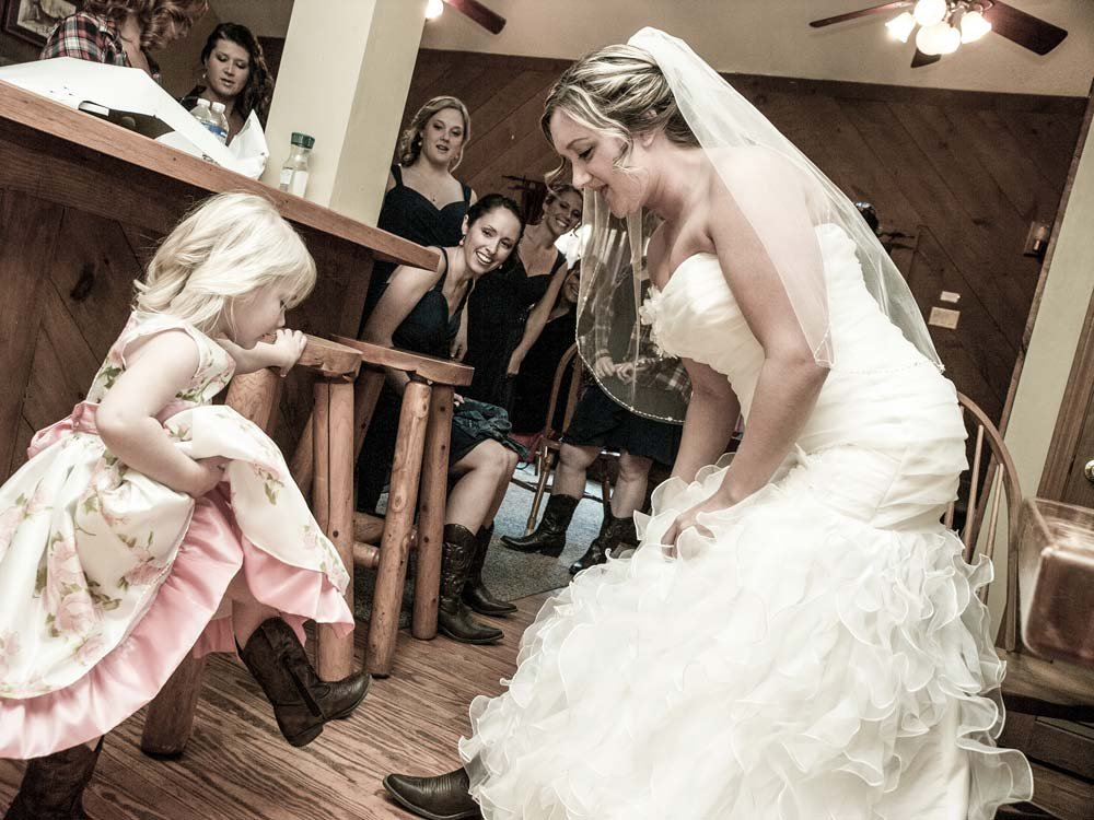 Adventure weddings include guests of all ages!