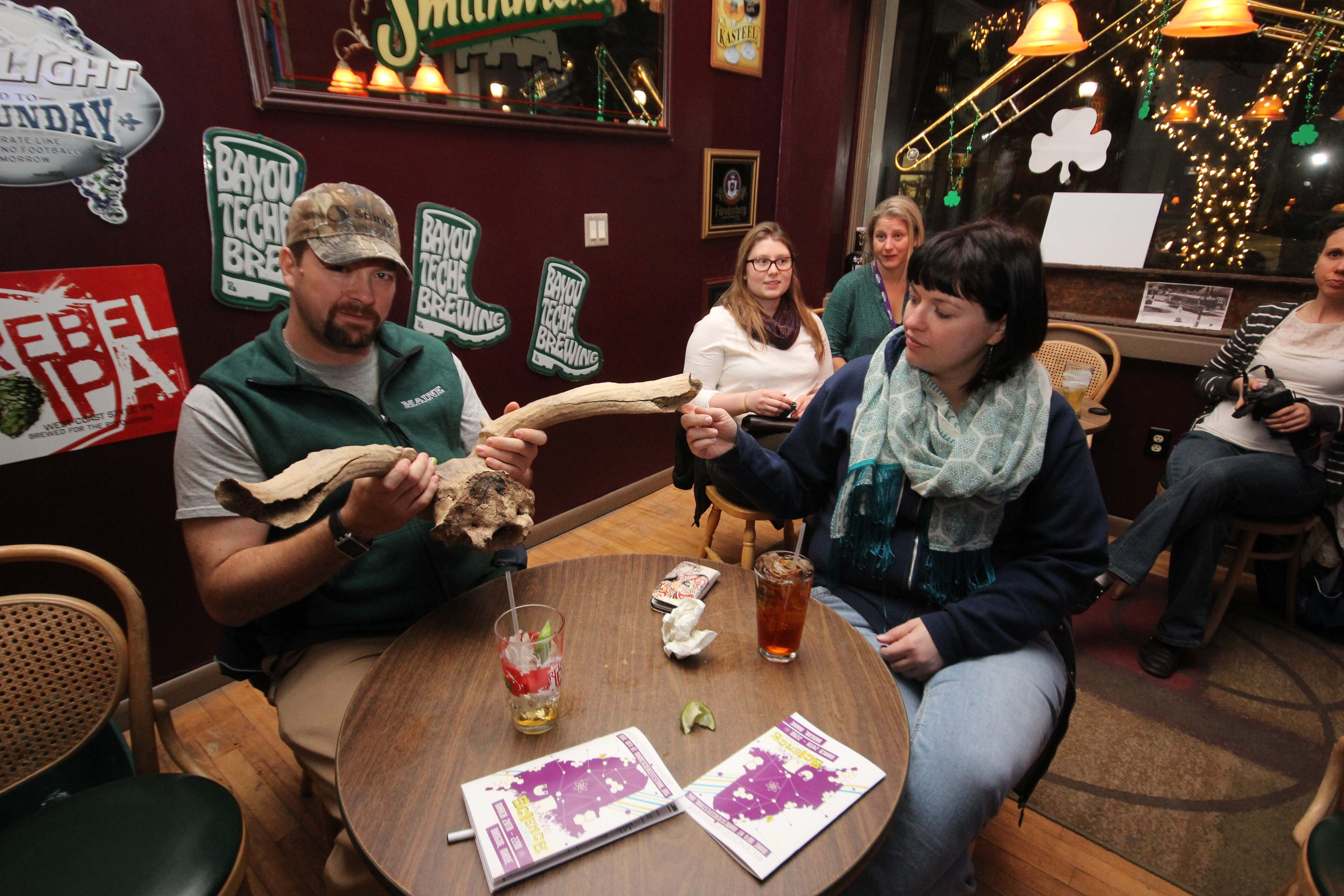 Exploring during Science on Tap