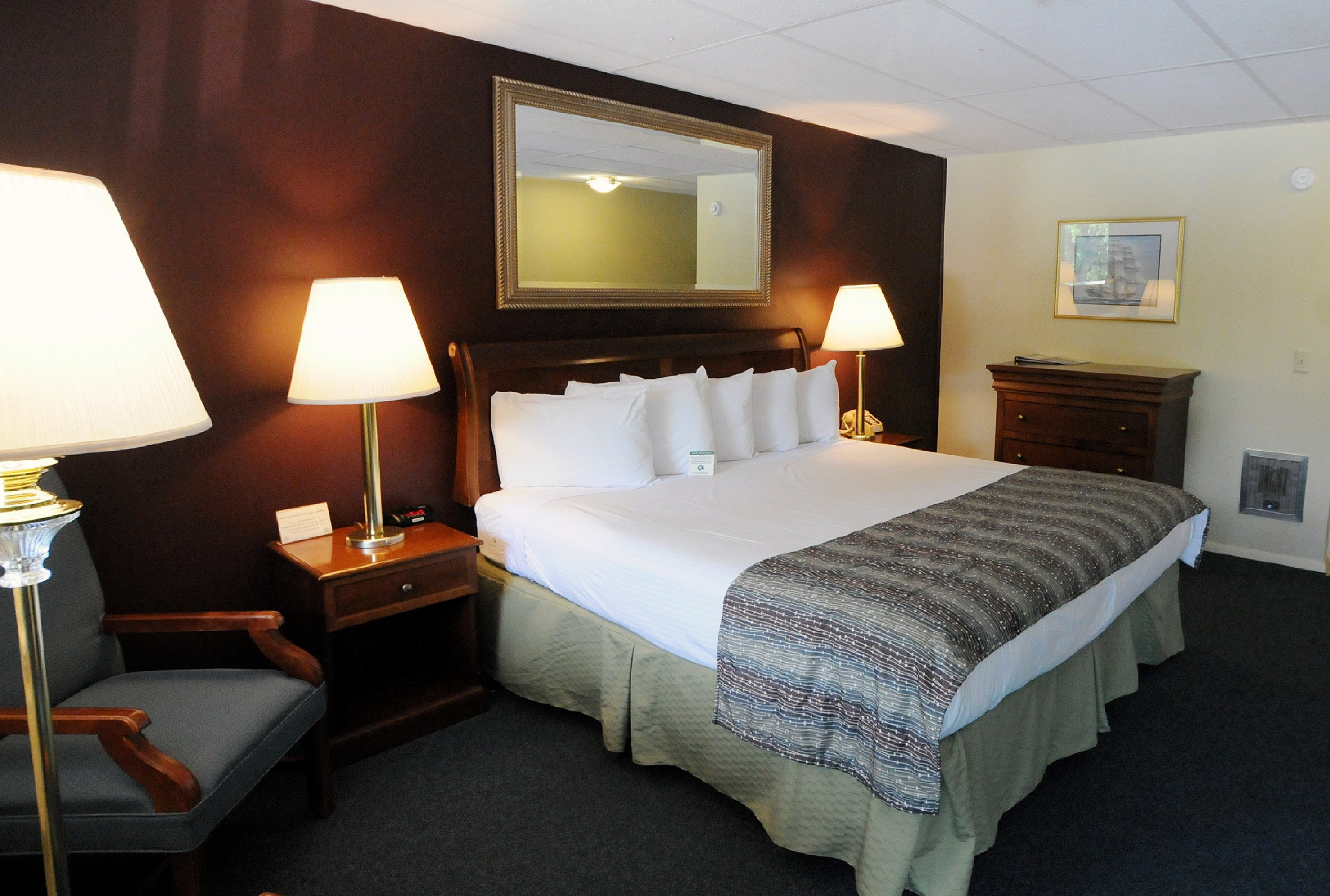 Economy room with 1 king bed