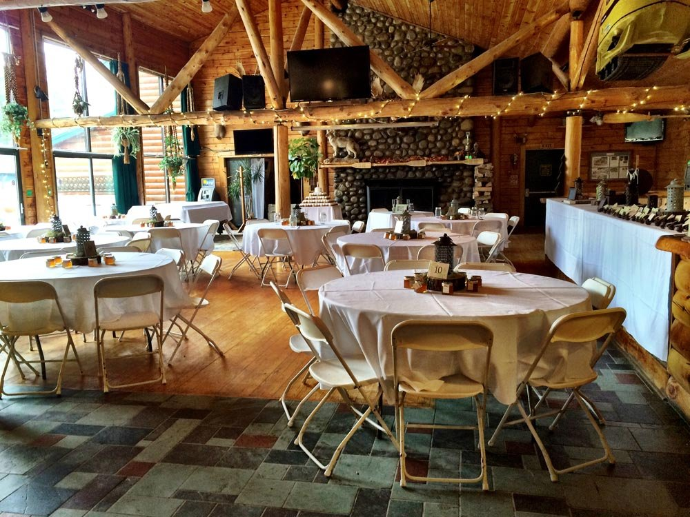 Rent the Northern Outdoors lodge exclusively for your wedding.