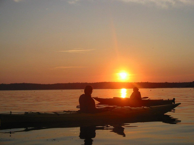 Sunset Kayak Paddle