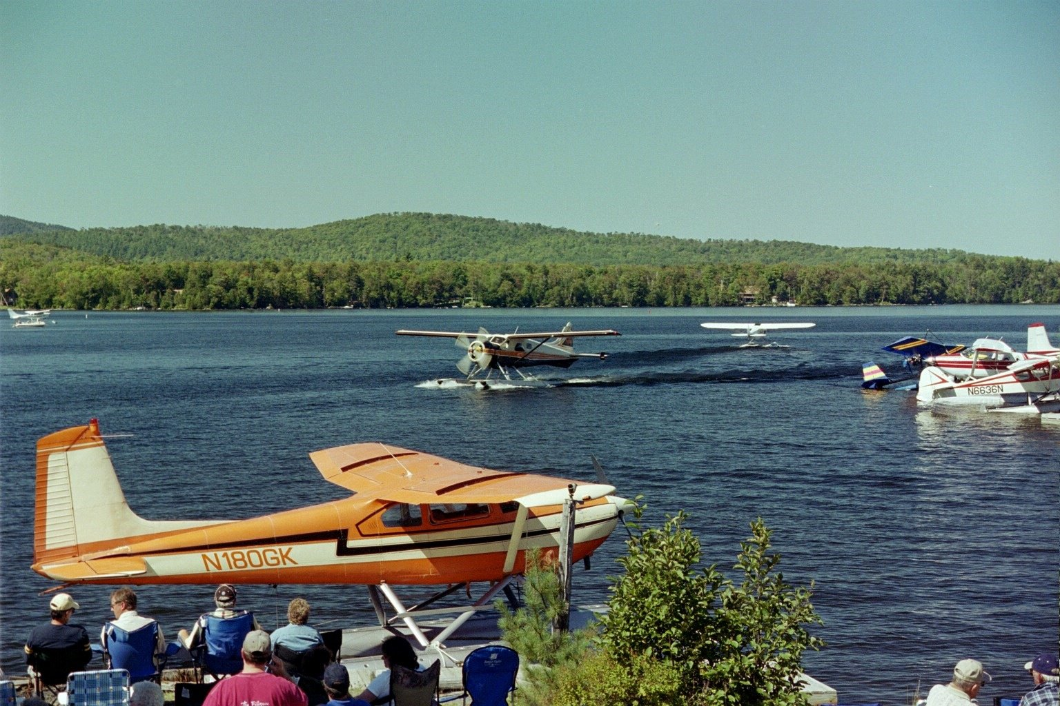 Best way to see Moosehead Lake is by seaplane