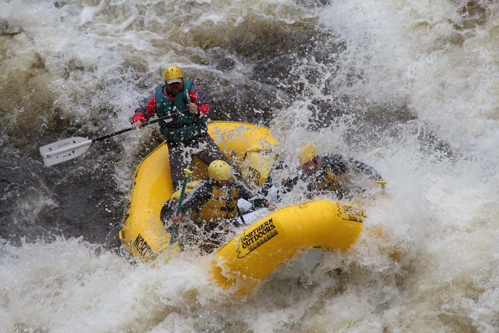 Yeah, it gets intense on the Penobscot! You won't be disappointed with the fantastic whitewater action on this river!!