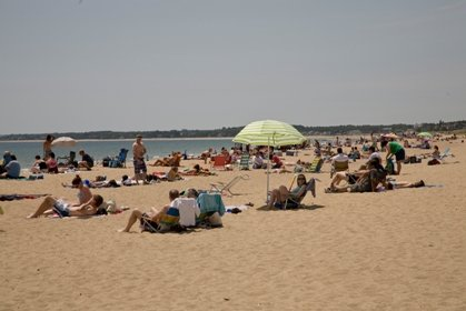 Old Orchard Beach, July or August