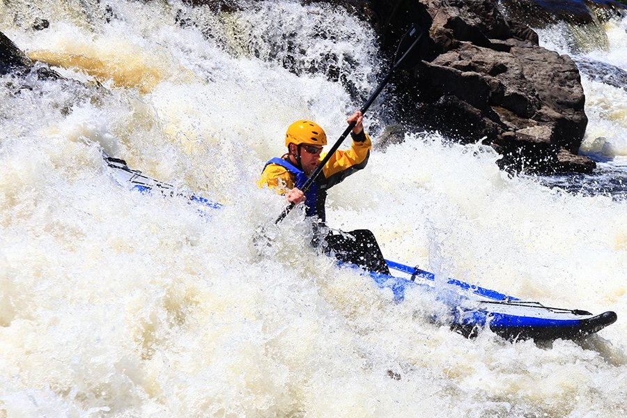 Kayaking the Penobscot River