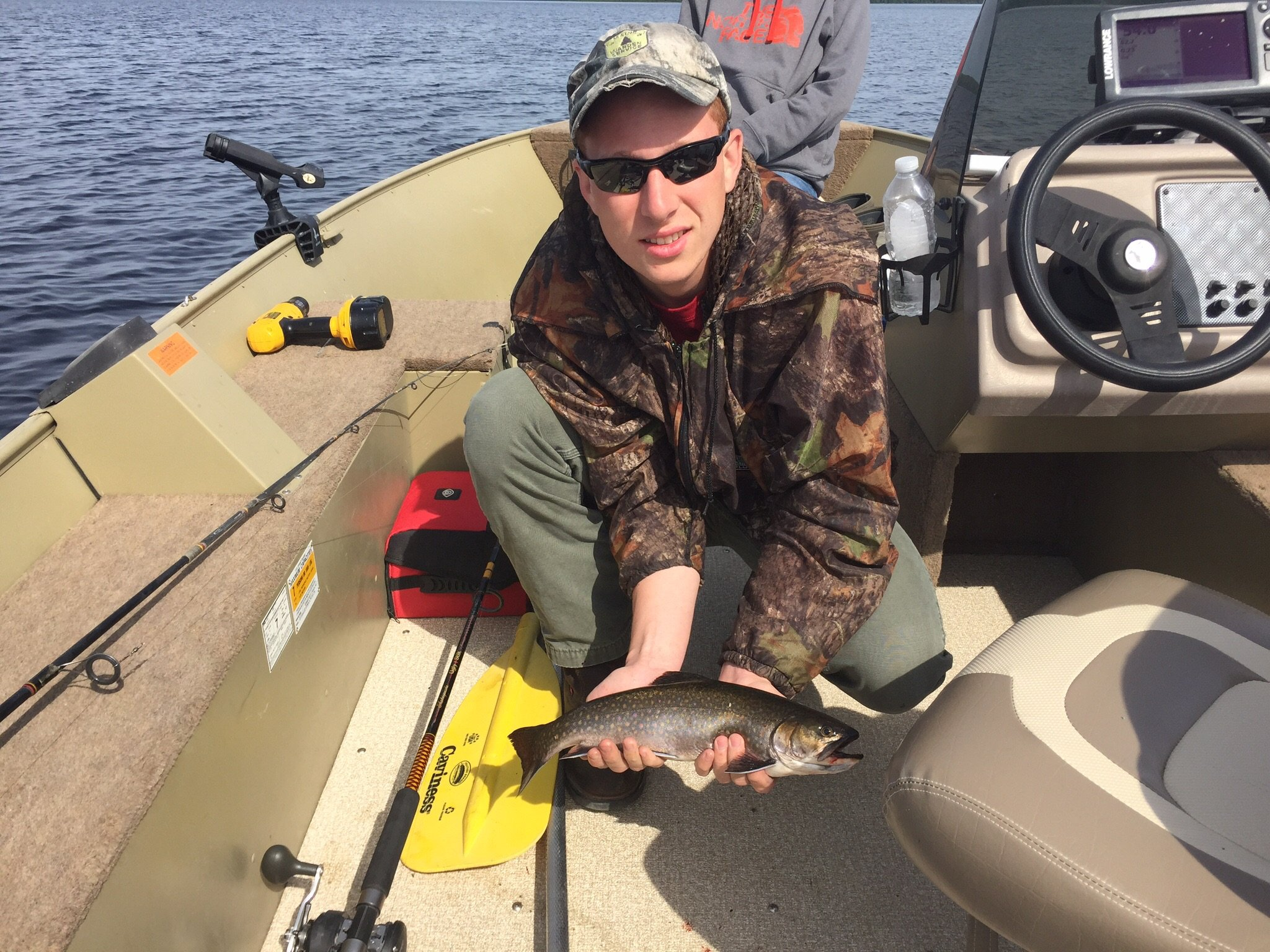 3lb Wild Maine Brook Trout