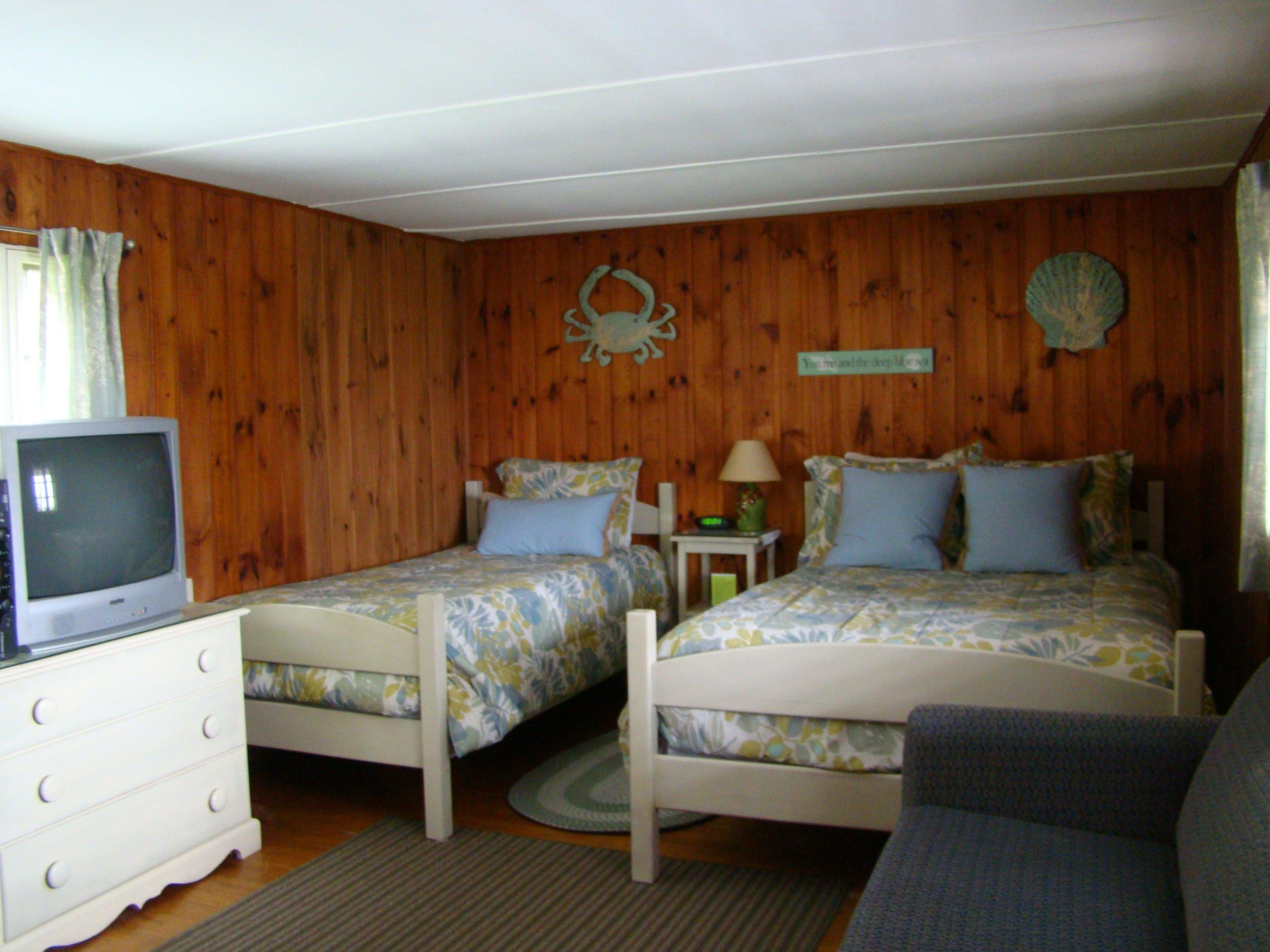 Motel room #14 - full bed, twin bed, full sleeper sofa, TV, refrigerator, microwave, coffeemaker