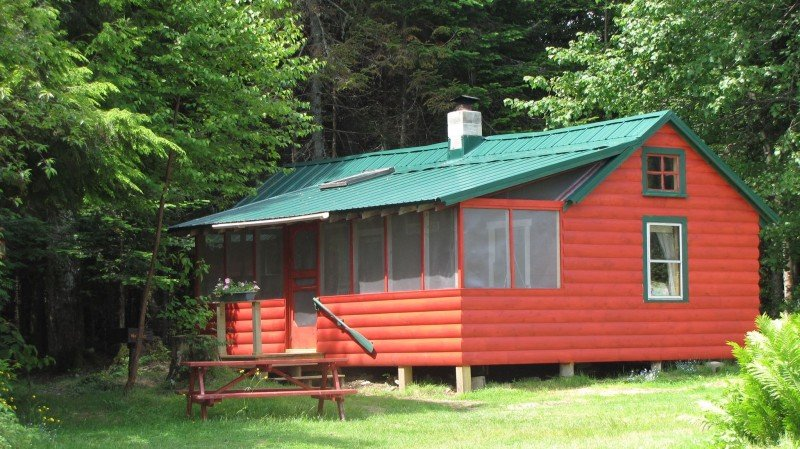 One of the six cabins - Cricket
