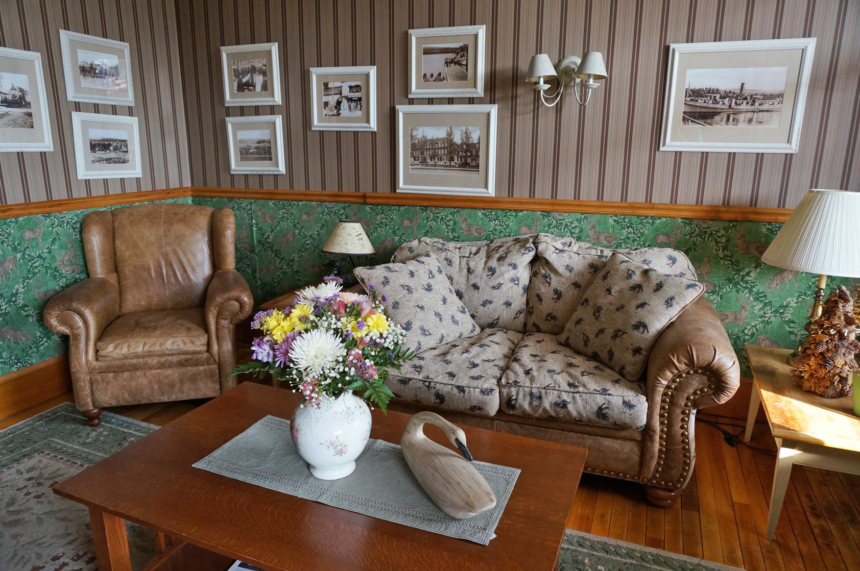 Step back in time and relax in our inviting atmosphere.