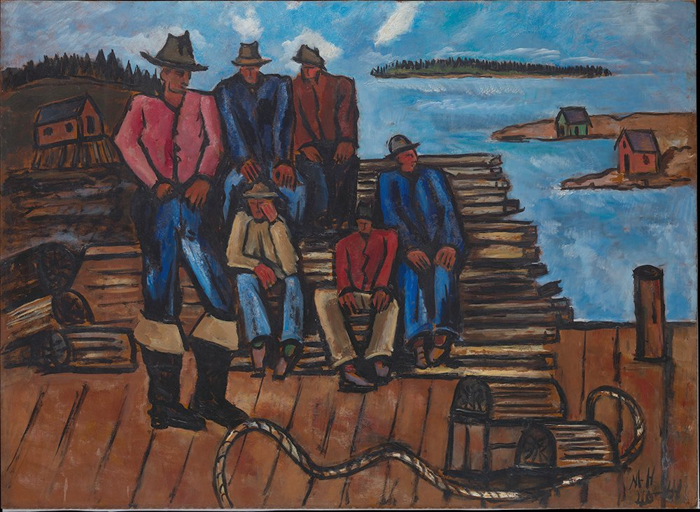 Marsden Hartley's Lobster Fishermen