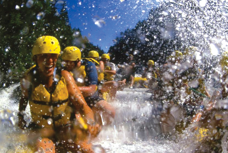 Rafting on the Kennebec and Dead Rivers
