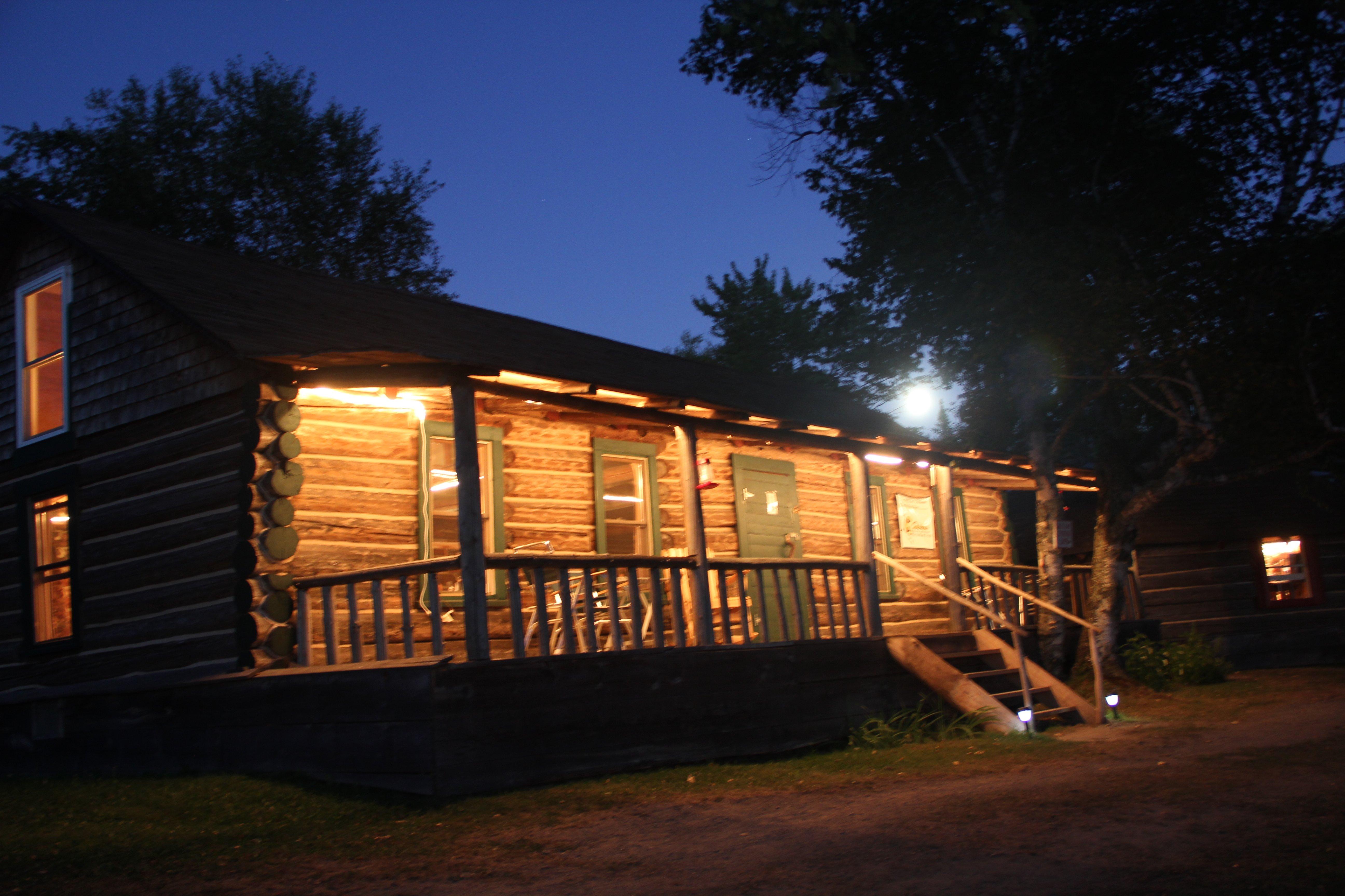 Roosevelt Dining Room in Moonlight