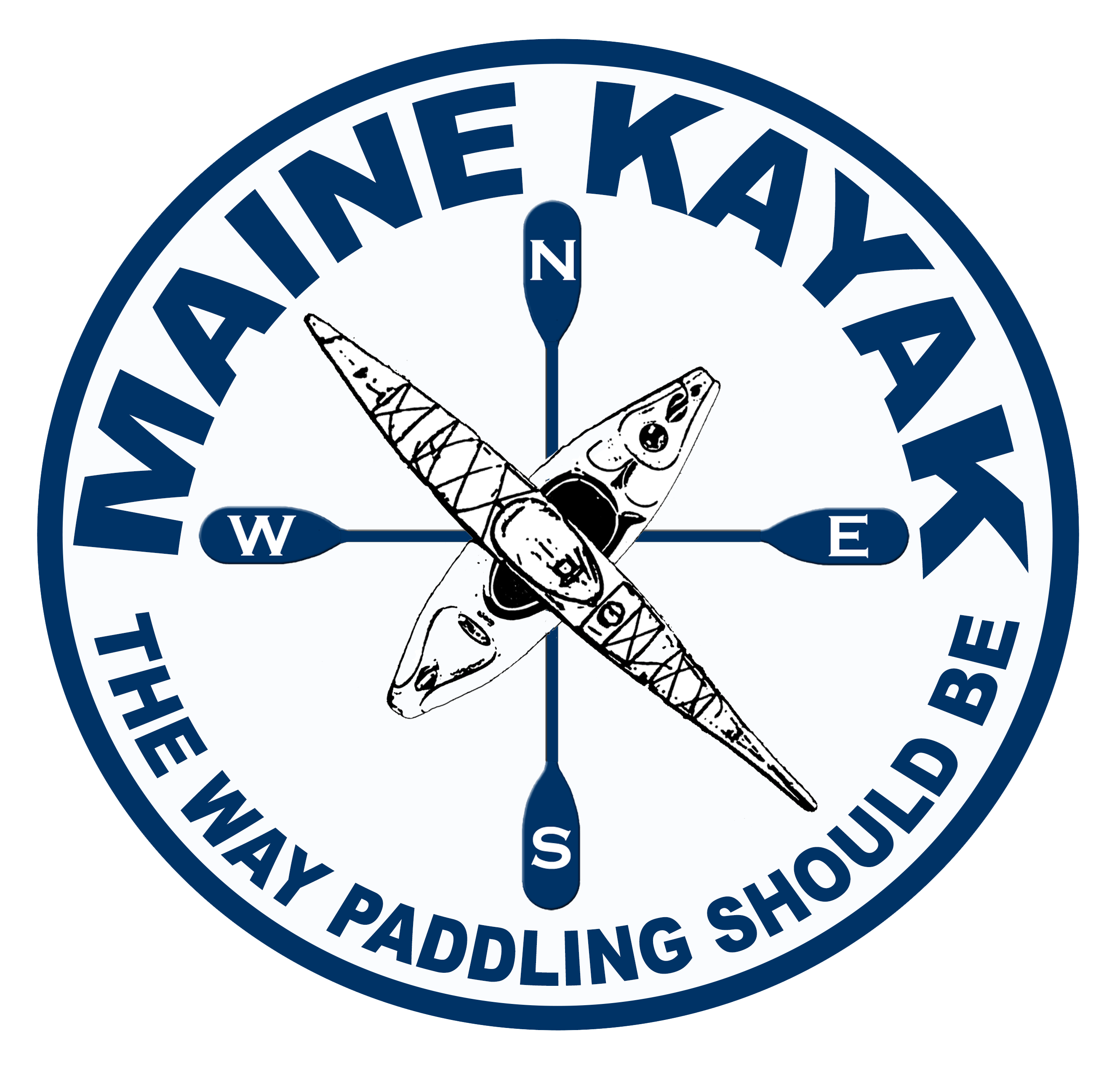Maine Kayak Logo