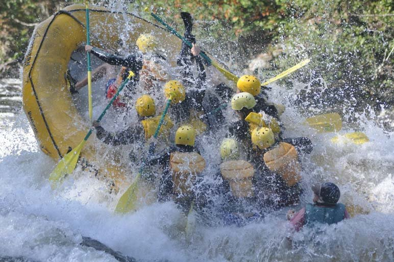 Whoa baby! Kennebec Turbine Test rafting excitement!