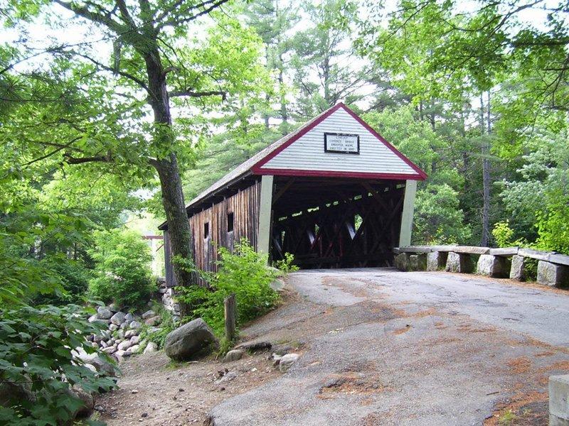 The Love-joy Bridge located in East Andover.