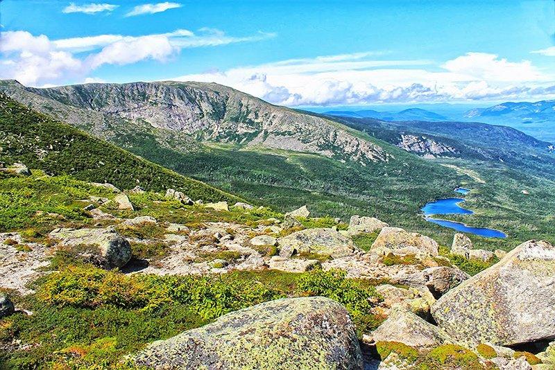 Beautiful view of Mount Katahdin.