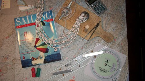 Tools used in the Coastal Cruising Course