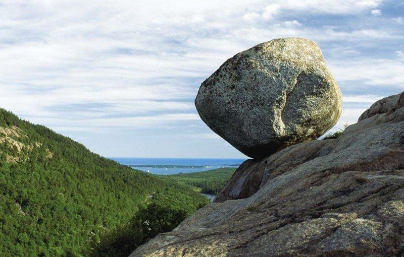 Balance Rock, Acadia National Park