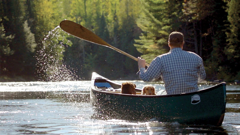 Paddling with a Registered Maine Guide