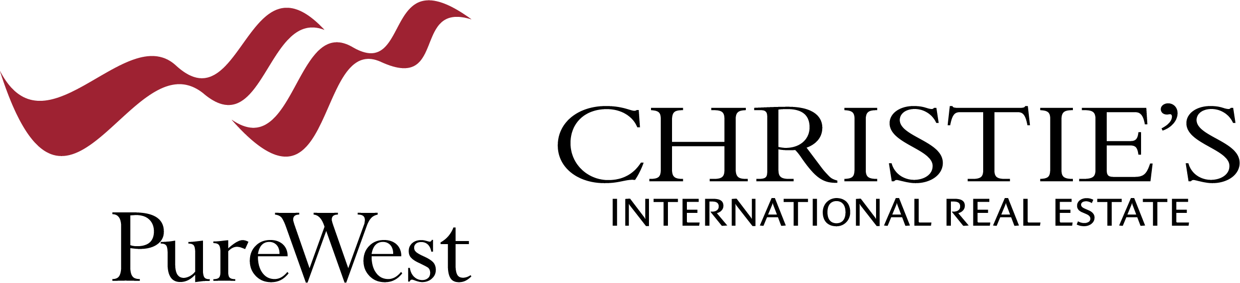 PureWest Christie's International Real Estate Logo