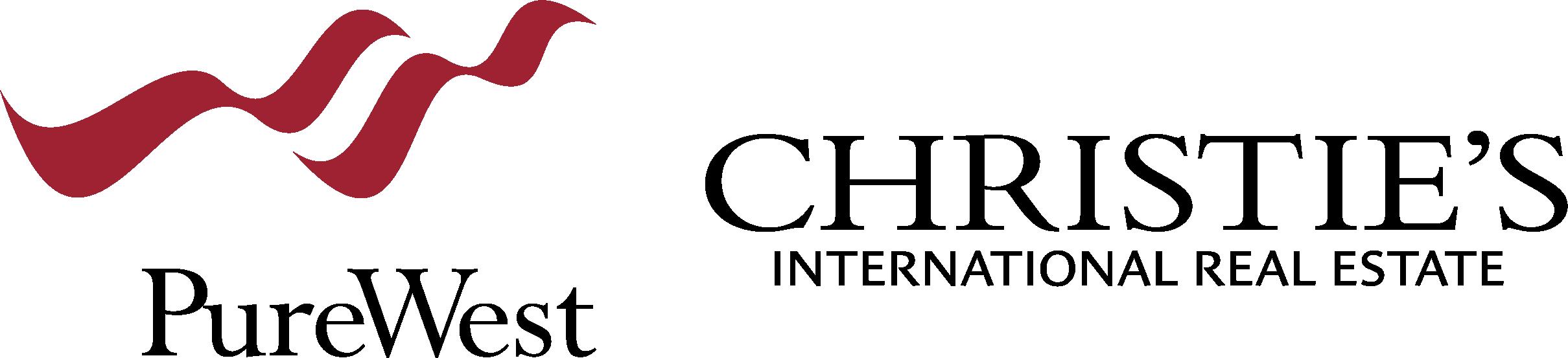 PureWest Christie's International Real Estate Logo