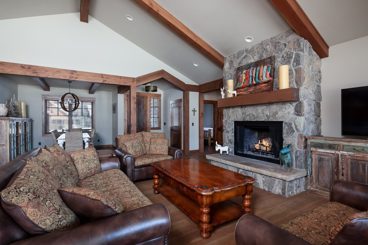 Luxury Home #14 Great Room with Fireplace