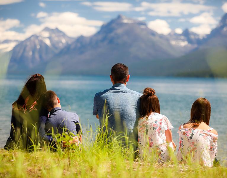 Glacier National Park Portrait by Mountain Life Photography – Mountain Life Photography