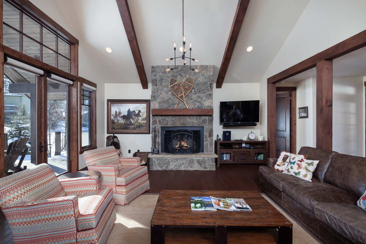 Luxury Home #16 Great Room with Fireplace